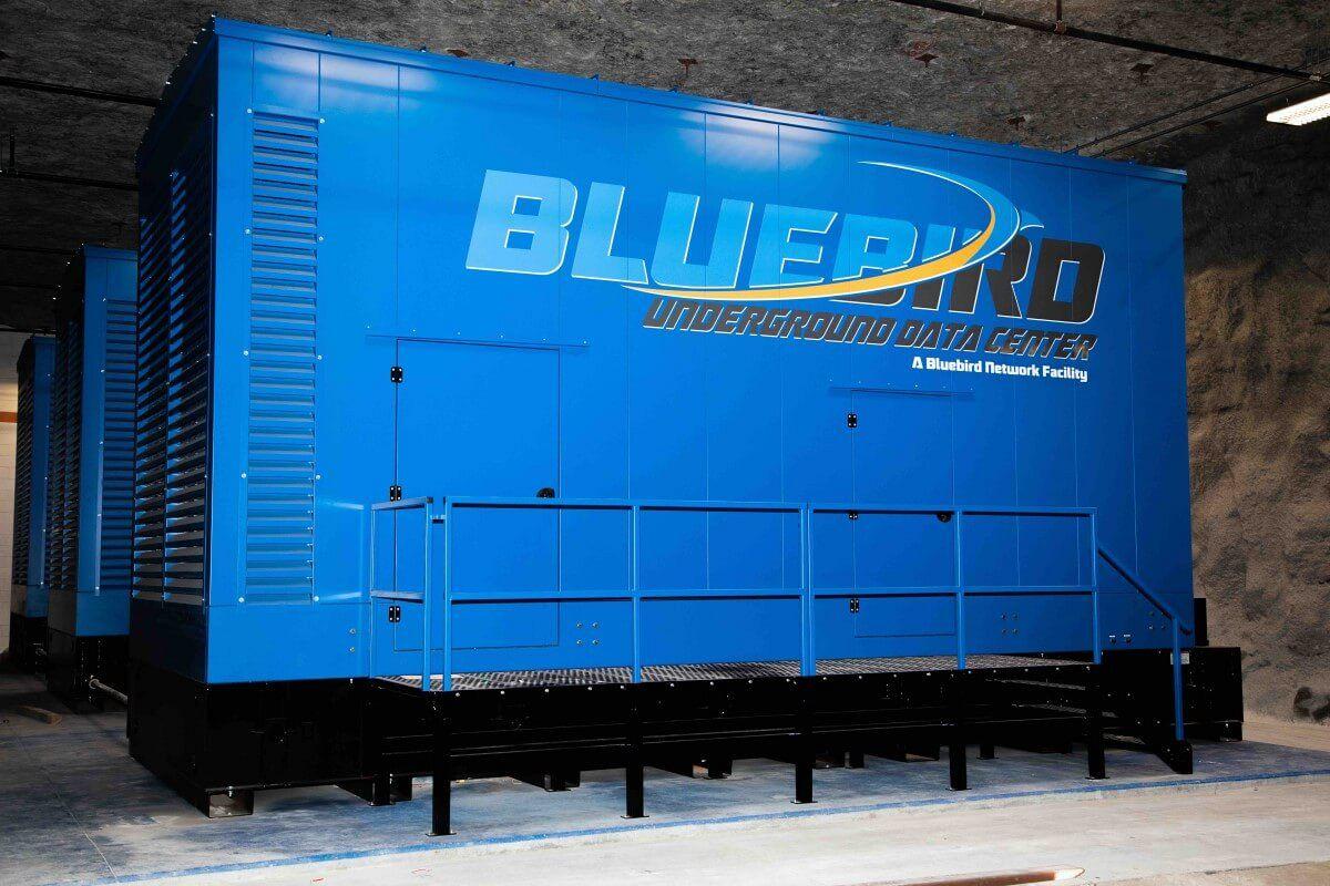 Blubird Network Underground Data Center