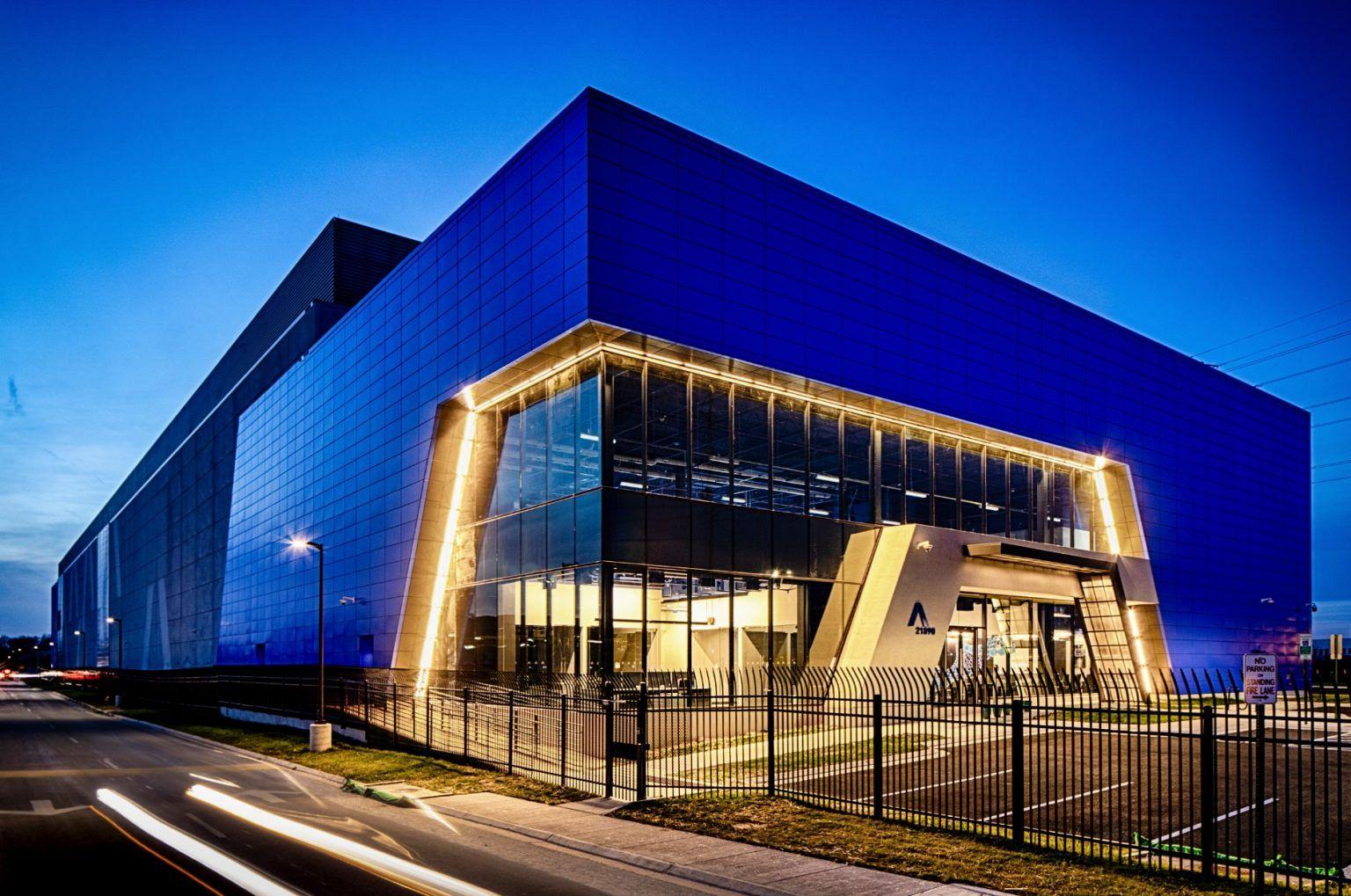 Aligned data center campus Ashburn, VA