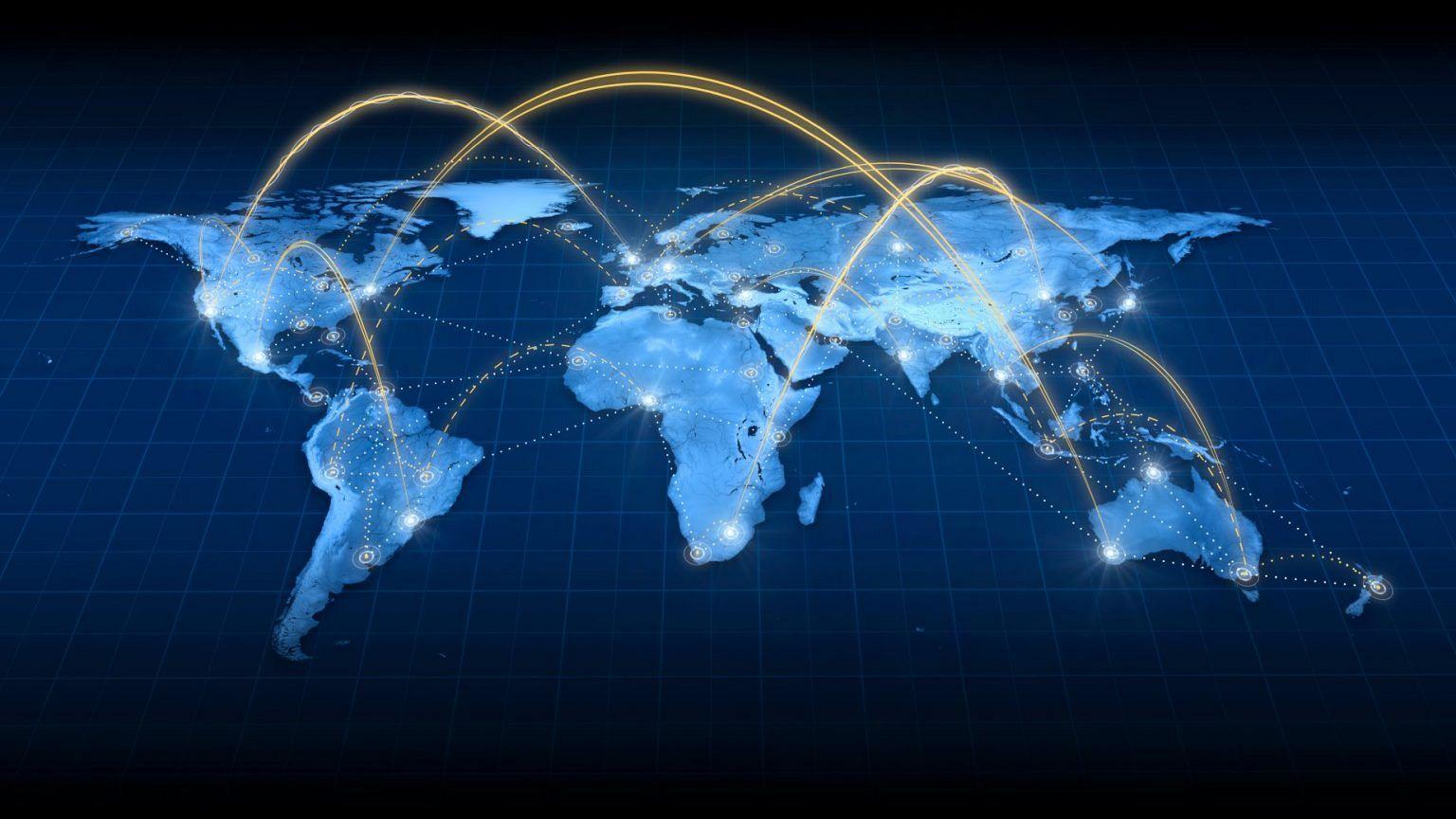 IDC - world map