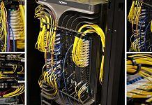 DE-CIX - network cables data center