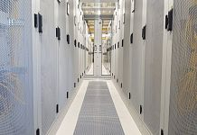 Nikhef data center inside