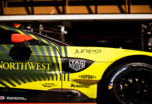 Juniper Networks race car