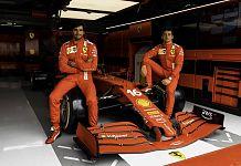 AWS - F1 Ferrari