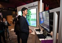 Accenture Canada booth