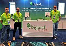 BigLeaf Networks booth