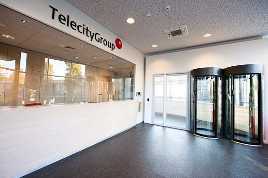 Data Center reception telecitygroup