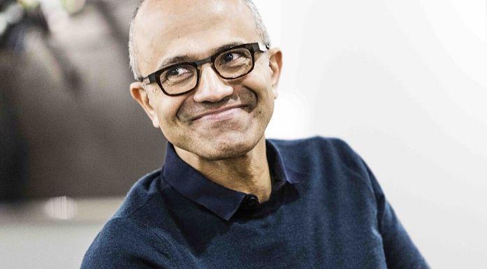 Microsoft Satya Nadella -LARGE