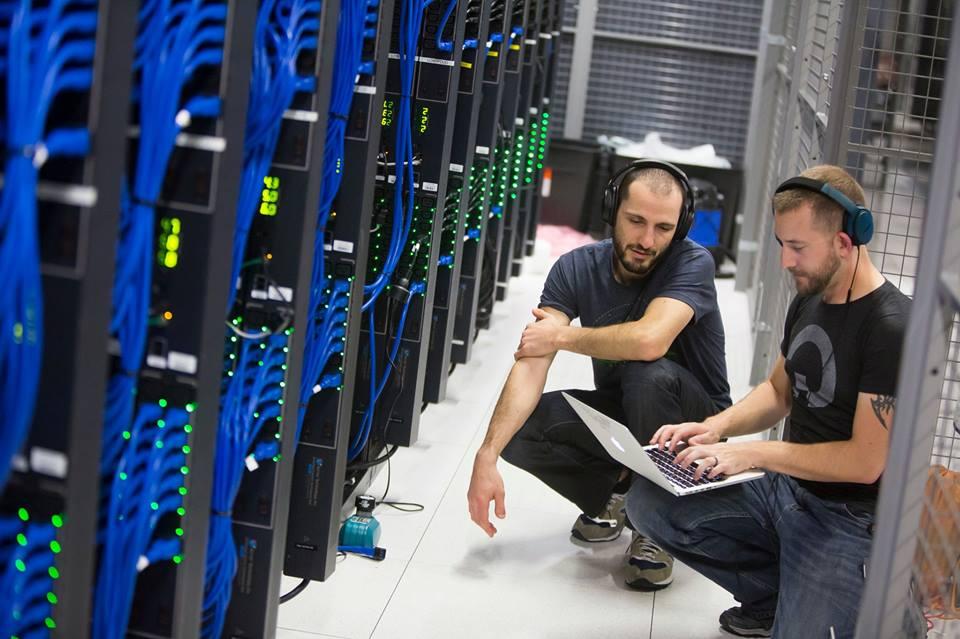 DigitalOcean Cloud Servers inside Data Center