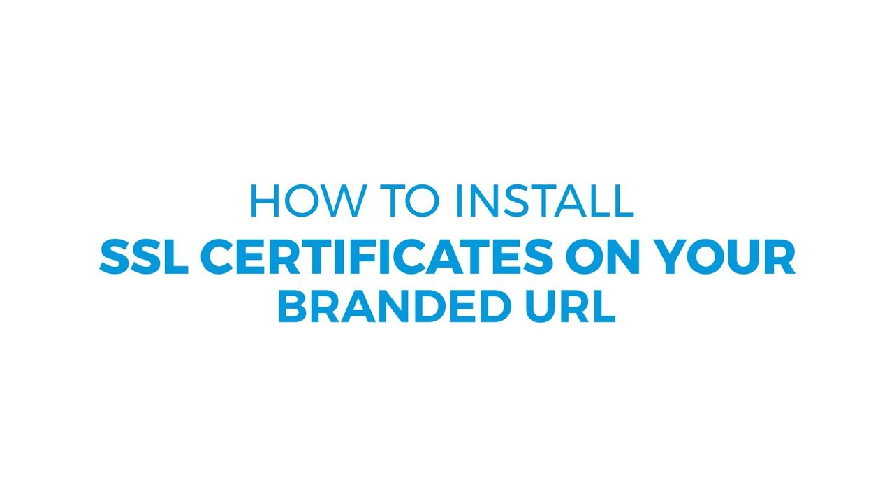 How To Install An Ssl Certificate On Your Branded Url Resellerclub