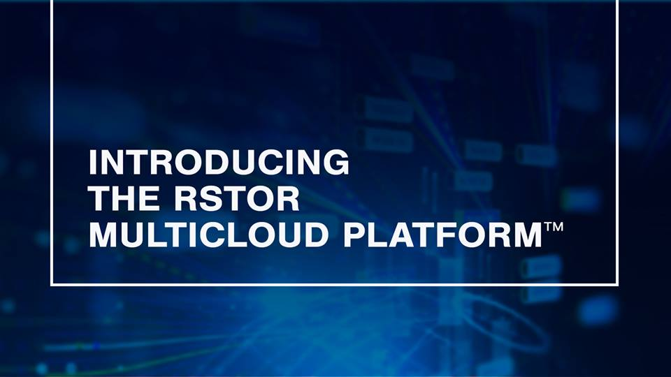 Rstor multi-cloud
