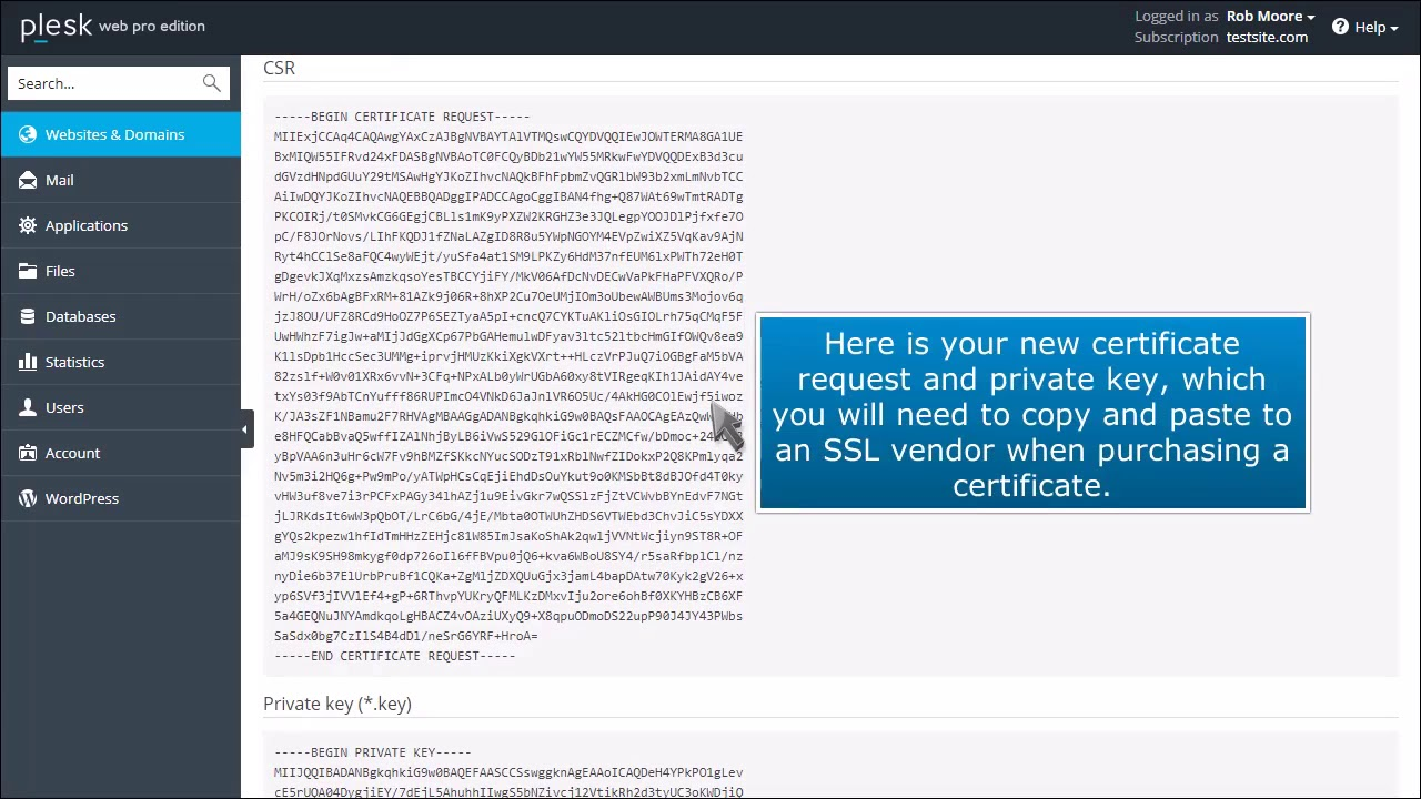 How To Install Ssl Certificates In Plesk Hosting Journalist