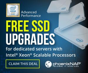 Free SSD upgrade