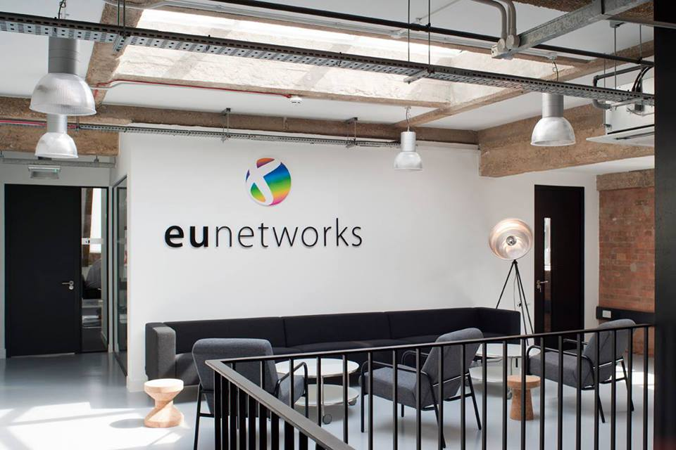 euNetworks Starts Delivering Bandwidth Services at Kao Data's London Area Colocation Facility