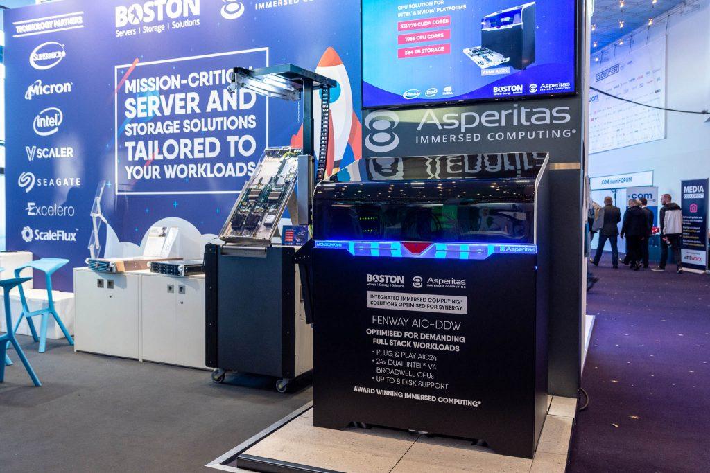 Boston, Asperitas Launch 4 Liquid Cooling-powered Options