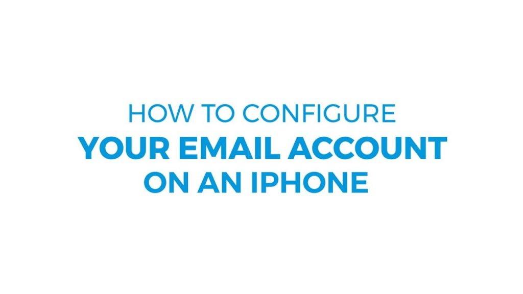 How one can Configure E-mail Account on iPhone ResellerClub