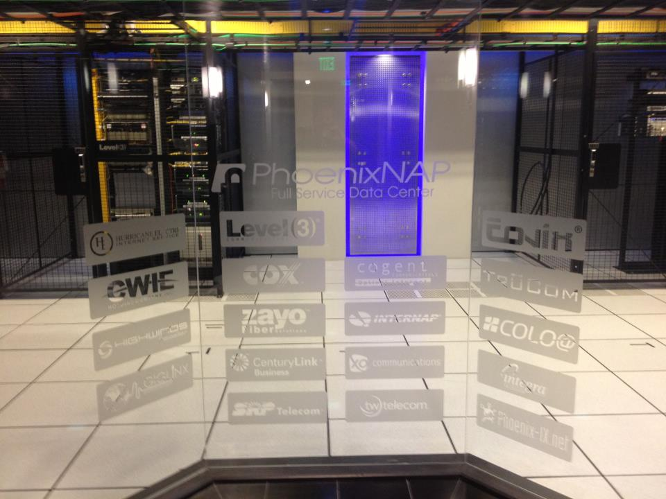 phoenixNap flagship data center