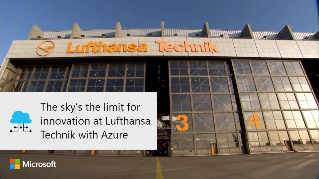 Innovation Inc Thermal Power Plant Roblox The Sky S The Limit For Innovation At Lufthansa Technik With Azure Internet Technology News