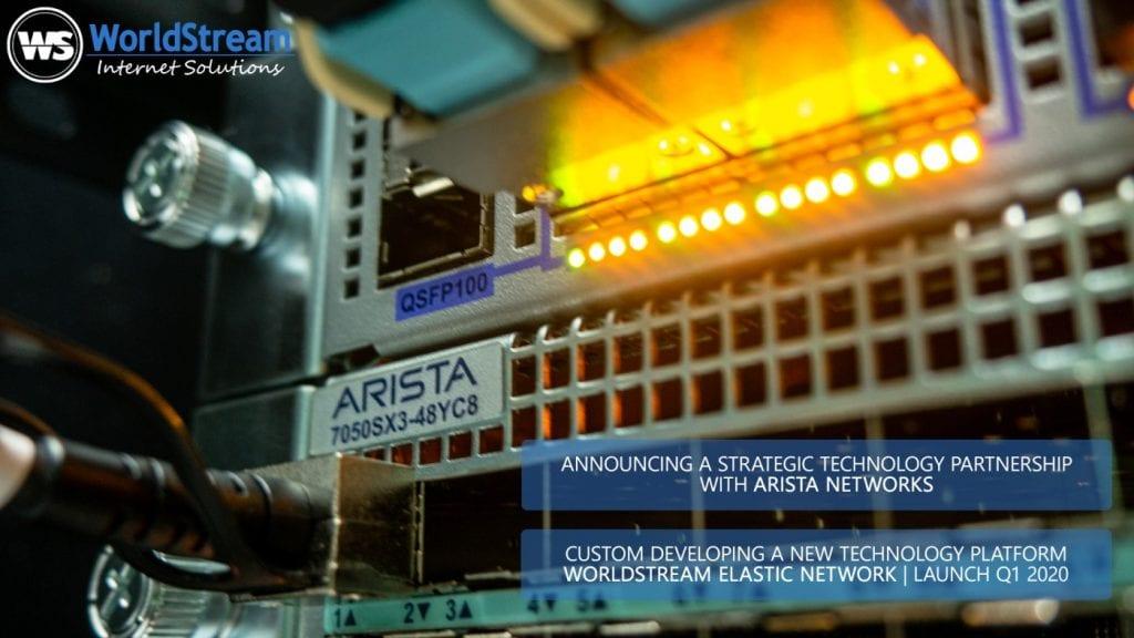 WorldStream Arista Networks