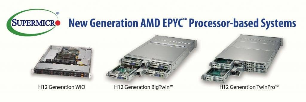 Supermicro AMD EPYC 7002 Series Processor-based Systems