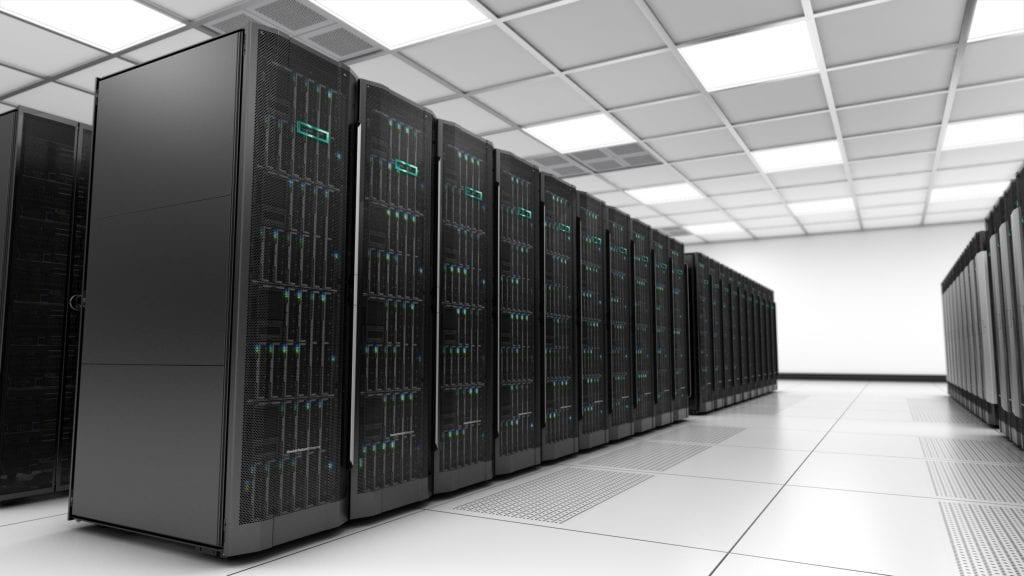HPE servers data center