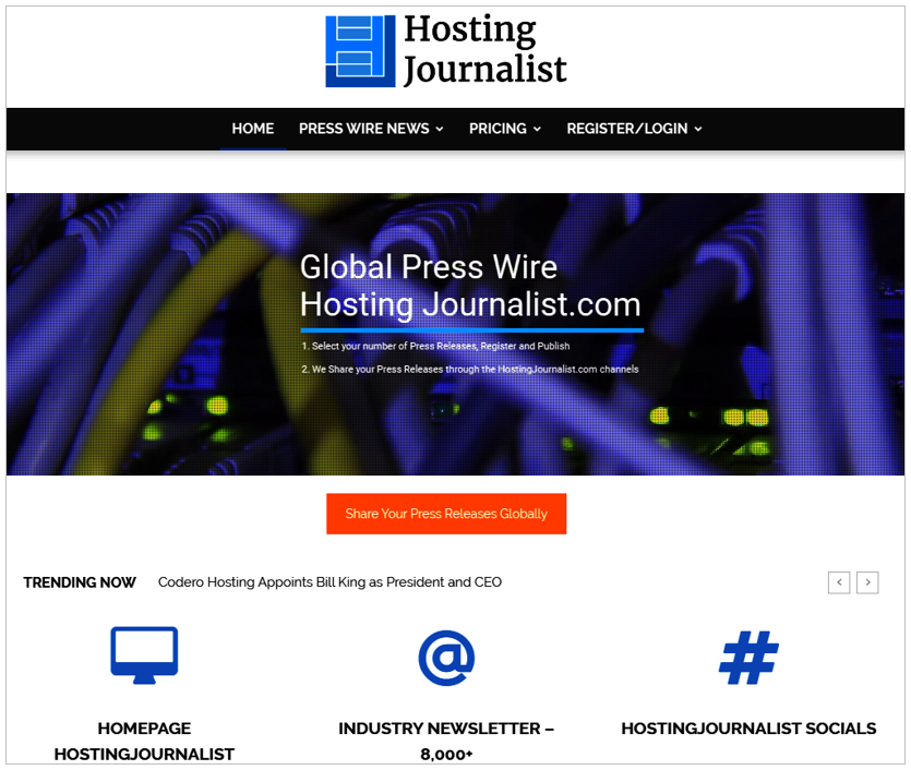 HostingJournalist Press Wire