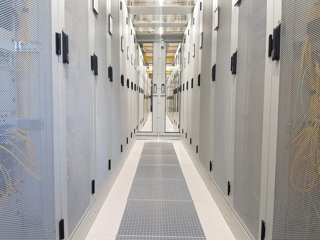 Nikhef data center inside