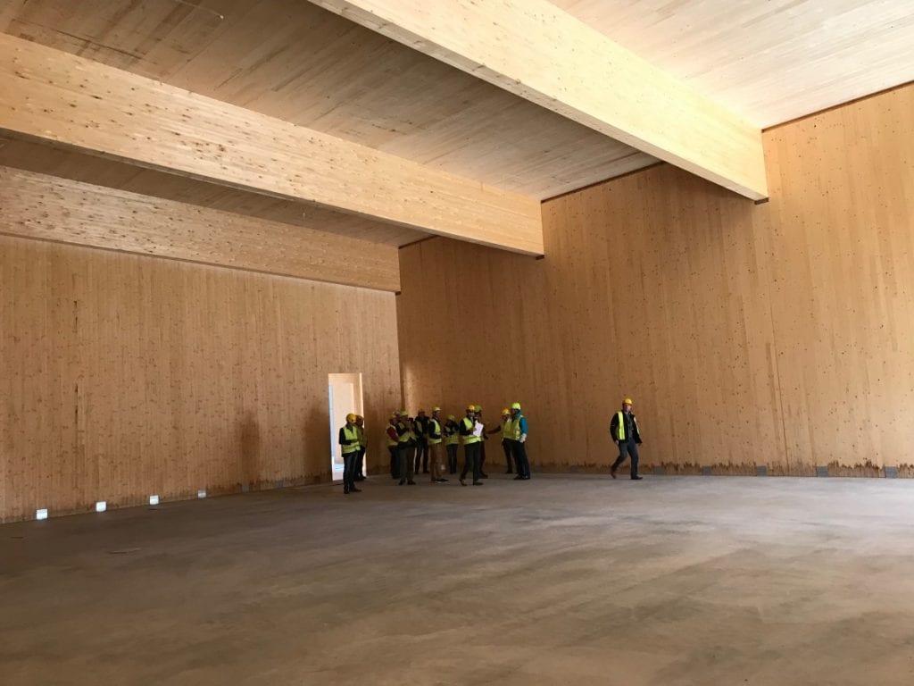 EcoDataCenter wood