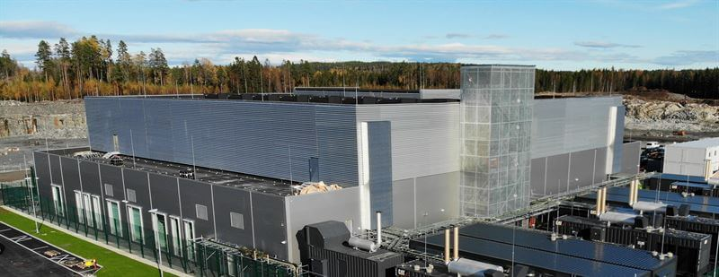 DigiPlex - Hobøl data center in Norway