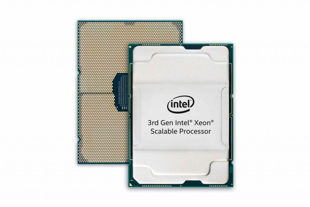 Intel 3rd Gen Xeon Scalalbe composite