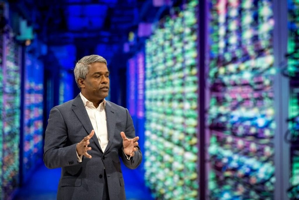 Photo Thomas Kurian, CEO at Google Cloud