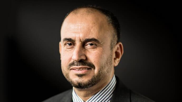Photo Ahmad Al Sa'adi, Senior Vice President of Technical Services,Aramco