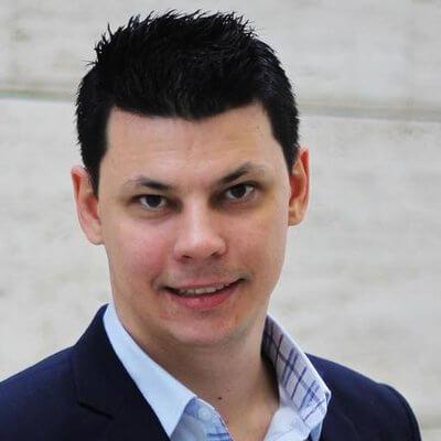 Photo George Egri, CEO and founder of BitNinja