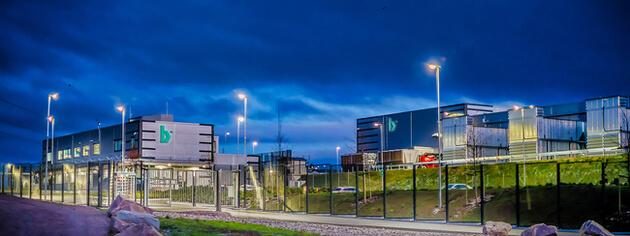 Bulk Infrastructure - Norwegian N01 Data Center