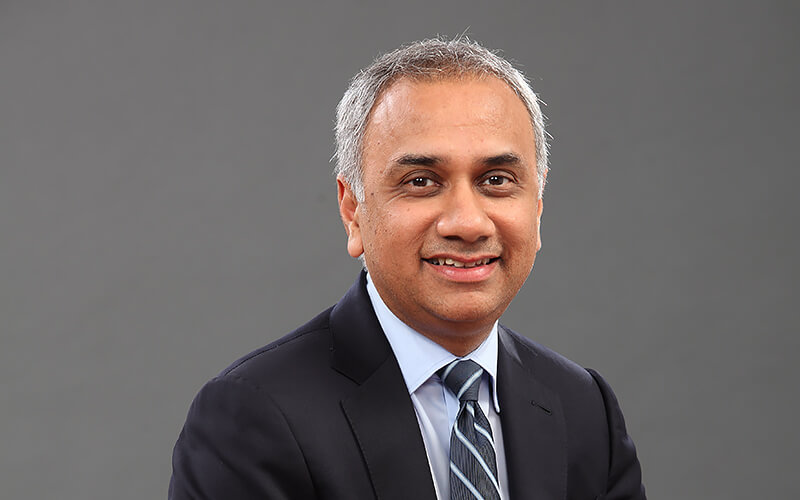 Photo Salil Parekh, CEO of Infosys