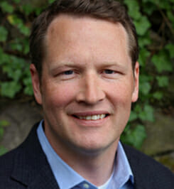 Photo Chandler McCormick, CEO of OxBlue