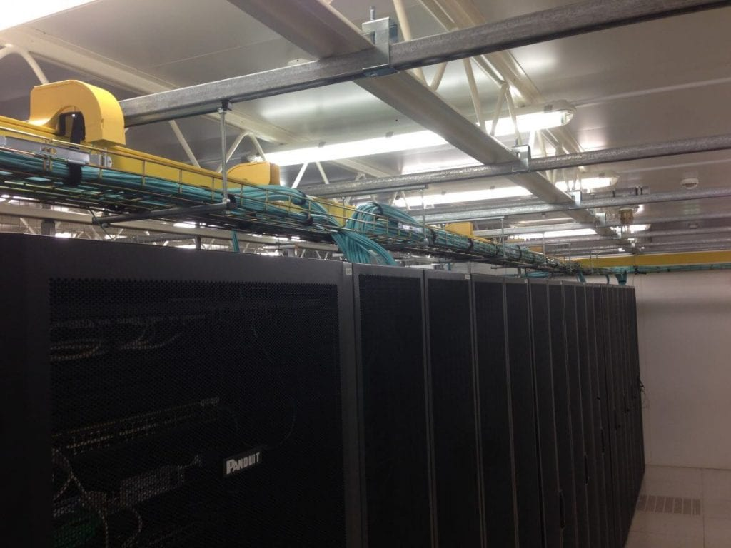 ServerFarm data center inside