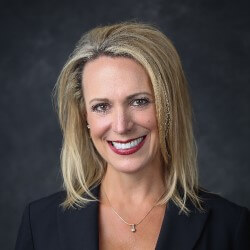 Photo Kristin Russell, president of Arrow's enterprise computing solutions business