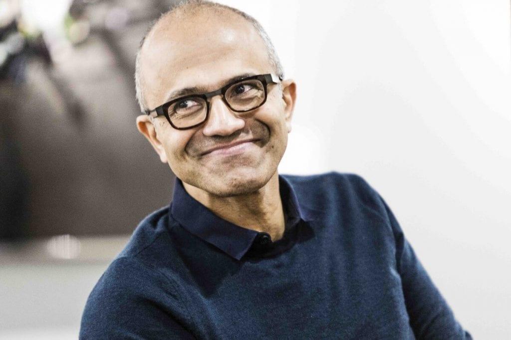 Photo Satya Nadella, Chief Executive Officer (CEO) of Microsoft