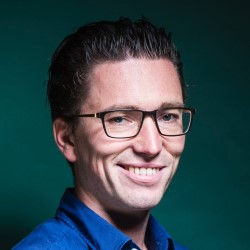 Photo Jonas Dhaenens, CEO ofteam.blue