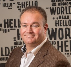 Photo Peter van Burgel, CEO of AMS-IX