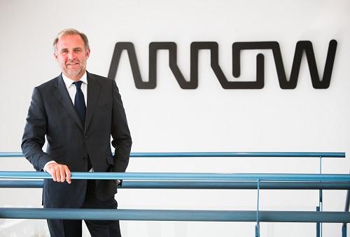 Photo Alexis Brabant, VP of EMEA Sales for Arrow's enterprise computing solutions business