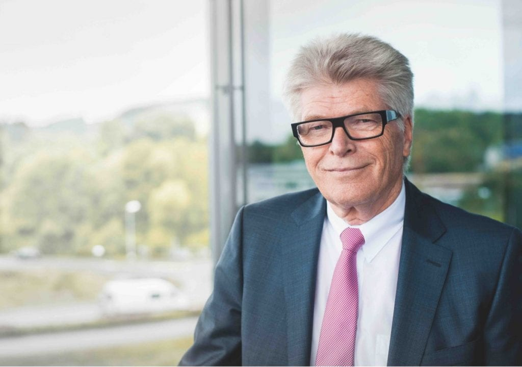Photo Prof. Friedhelm Loh, owner and CEO of Friedhelm Loh Group