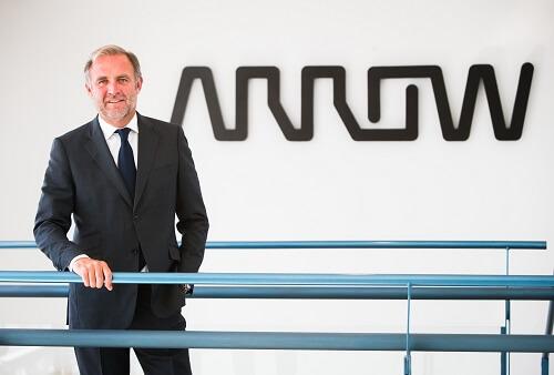 Photo Alexis Brabant, vice president of EMEA sales for Arrow's enterprise computing solutions business