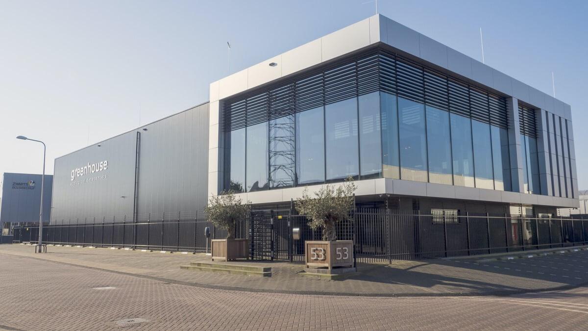 Centres de données à effet de serre - DC2 à l'extérieur