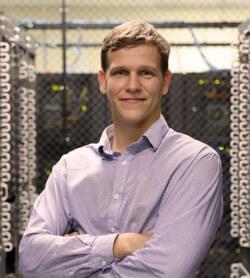 Photo Zach Kazanski, Vice President of Software Development at Hivelocity