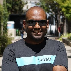 Photo Brian Sathianathan, Chief Technology Officer (CTO) and co-founder of Iterate.ai