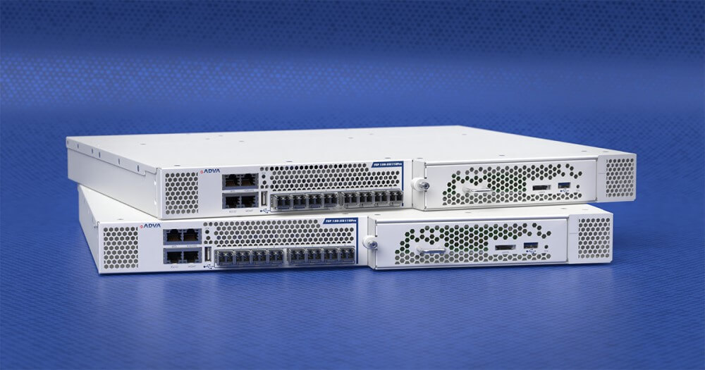 Photo ADVA's new FSP 150 is aimed at businesses seeking ultimate security for high-capacity Carrier Ethernet services