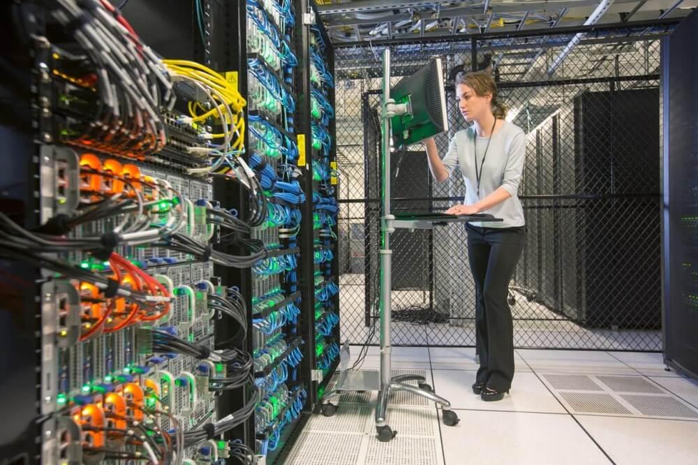 Centro de datos Digital Fortress Seattle inside