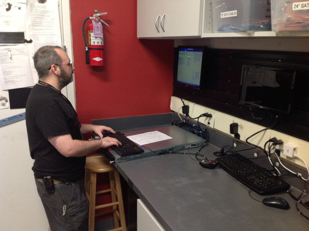 Photo Nate Kennison, DevOps Engineer at Hivelocity