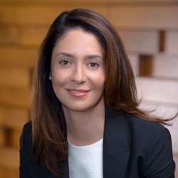 Photo VP of Security Business and Strategy at Juniper Networks, Samantha Madrid